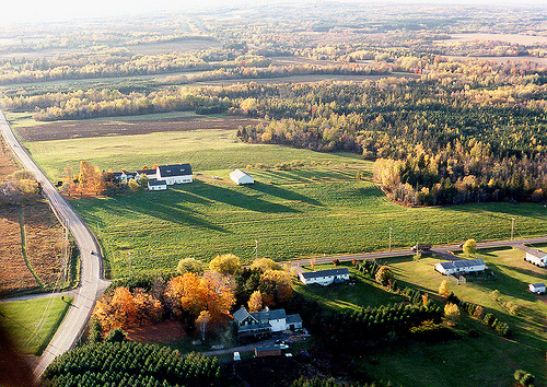 Where I grew up in Houlton Maine