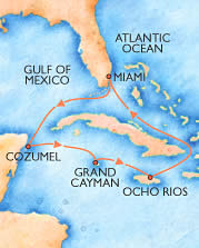 Cruise Ships Let You Sample Three Carribean Islands Each Vacation.