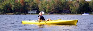 Paddling The Maine Water
