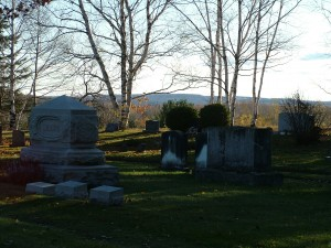 Joseph Houlton, Local Town Fathers Buried In Evergreen Cemetary.