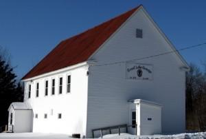 Near Grand Lake, Weston Maine's Grange Hall.