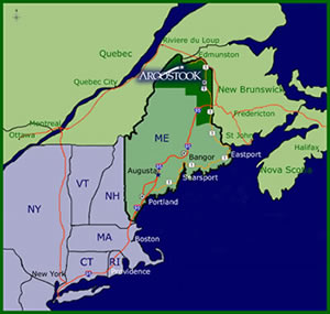 Bail Of Where You Live Now, Relocate To Northern Maine, And Watch Your Health, Attitude Improve.