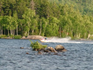 Summer Living On A Maine Lake, Means Water Fun But Milfoil Infestation Is Not Good.