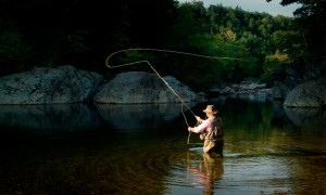 Casting, Enjoying Maine Fishing..Just One Recreational Option.