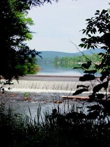 Early Summer Morning Walk To Maine Lake Dam, Drews Lake ME