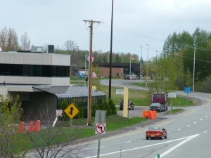 Houlton Maine Is On The New Brunswick Canada US Border.