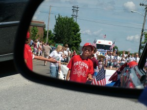 Maine Little League Town Champions In Parade