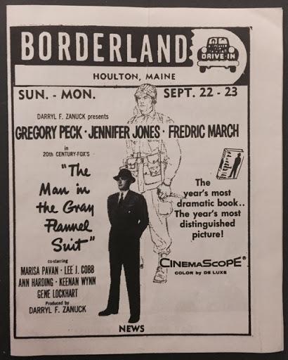 newspaper ad borderland drive in