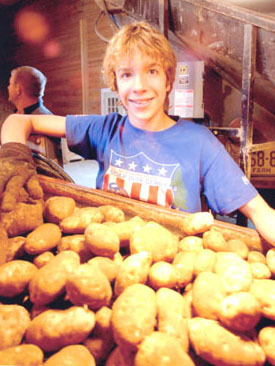 Raised To Work On Local Maine Potato Farms.