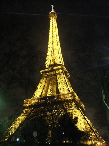Most Visited World Site, Eiffel Tower