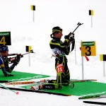 The Best Of The Biathlon Competitors From Around Globe Come To Maine.