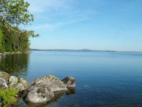 Maine Has Over 2500 Lakes, Ponds But Only Three Big Heavy Hitters... Moosehead, Sebago And Grand Lakes.