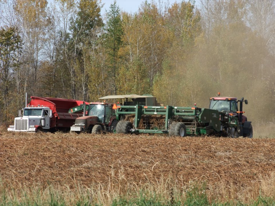 Blue Skies, Warm Temperatures And Safe Maine Potato Harvest Operations.