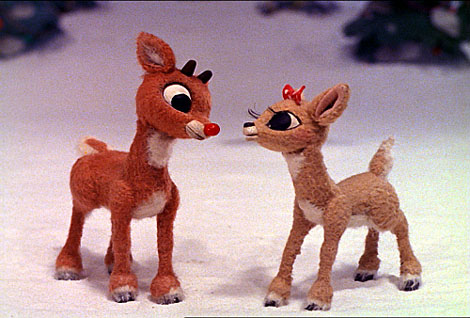 Rudolph The Red Nose Reindeer, Part Of Christmas Reruns Not Just Kids Watch.