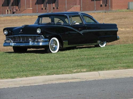 1950's Classic Cars, The Heatwave, Ford Crown Victoria Was One Of Them.