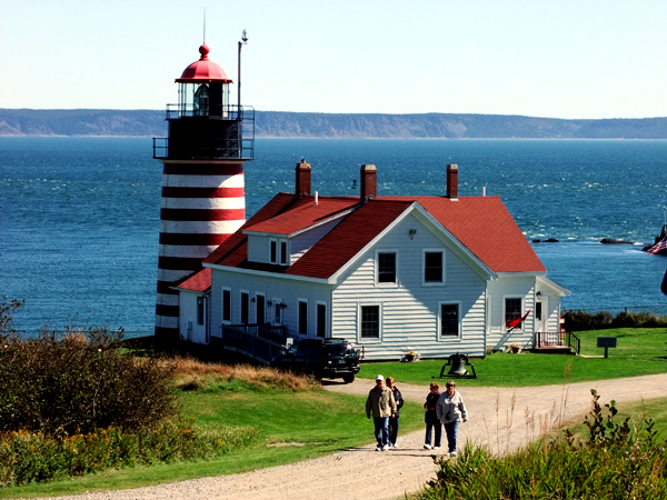 Find Answers At One Of 68 Maine Lighthouses.