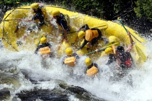 Staying Upright In A Maine Raft, In Life Situations, Relationships.