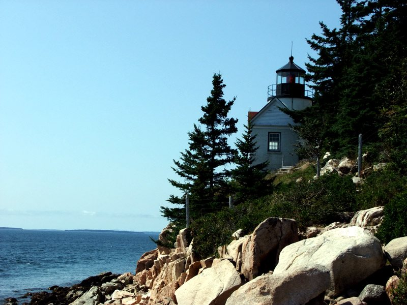 Find Out More About Maine Lighthouses, Like Bass Harbor Maine