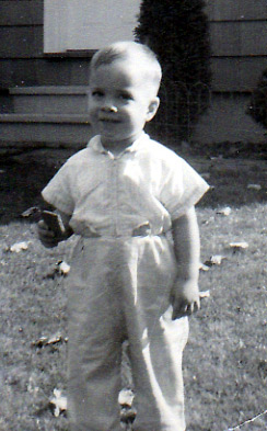 Want A Graham Cracker? 1958 Photo From Ralph And Marjorie Black's Houlton Maine Lawn.