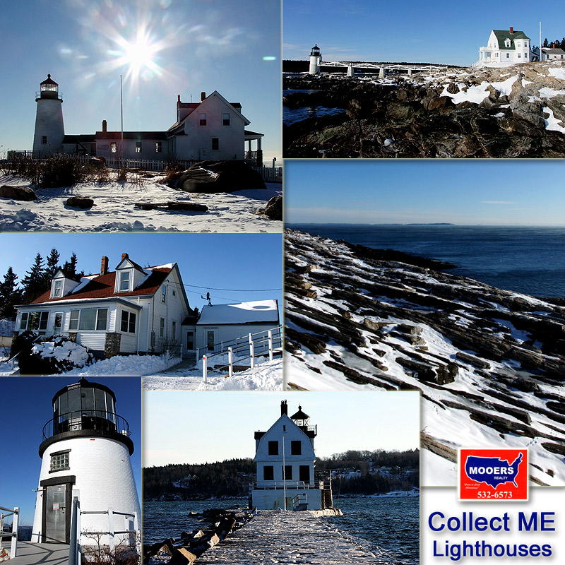 The Season Makes Each Maine Lighthouse Different, Special, Memorable.