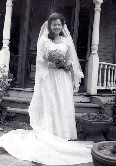 Maine Wedding Picture Of My Mom.
