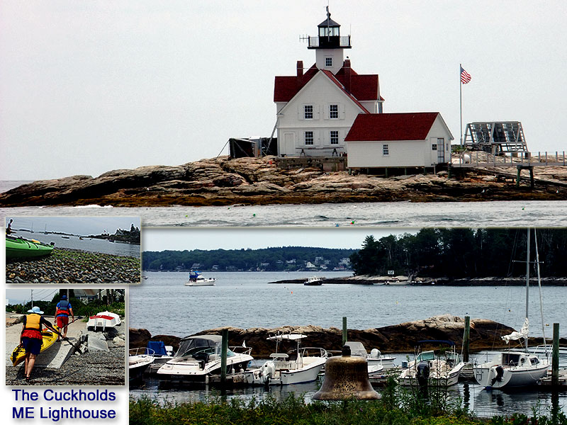 Maine Has Over 60 Lighthouses.