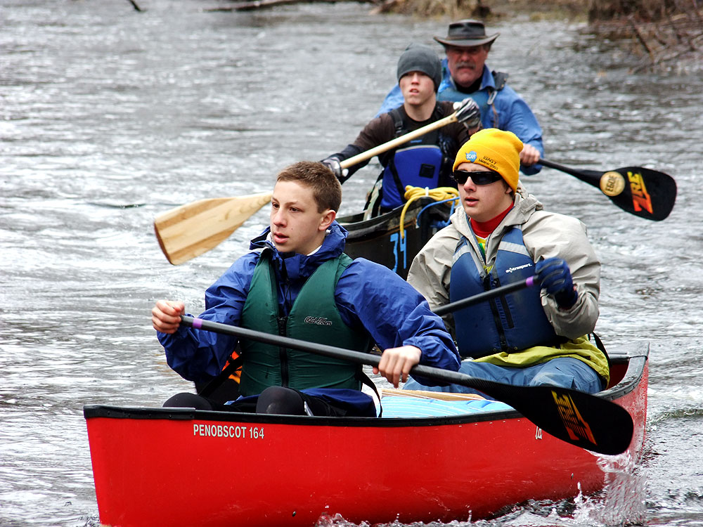Maine Canoe River Races.