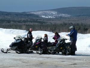 Maine Snow Sledding, Snowmobiling