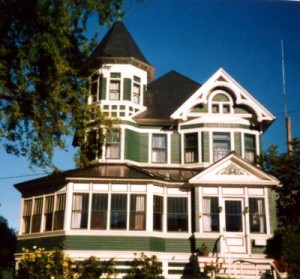 Maine Older Victorian Homes.