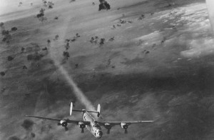 World War Two Bomber Planes Flak.
