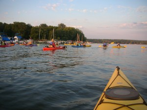 Kayaks In Packs.