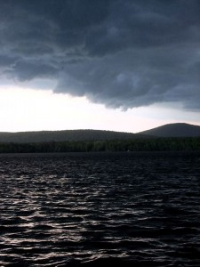 Maine Storms, Living Simply, Not Luxurious.