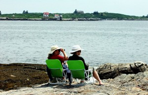 Maine Is Conversation, Outdoor Living.