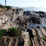 Maine Sea Coast Light House Photo