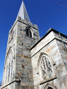 Maine Churches, Episcopal One In Gardiner.