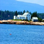 Maine Lighthouses In Schoodic Point / Prospect And Winter Harbor Area.