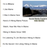 Maine Social Media.