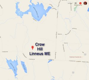 """""""X"""" Marks The Spot For Crow Hill Linneus ME"""