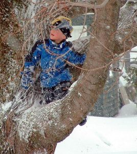 Maine Kids Play Outdoors