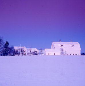 Maine Farm Barns