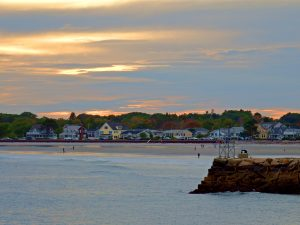 Maine's Kennebunkport Maine Beach Sea Shore