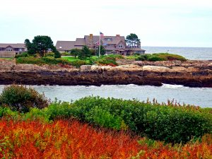 Walkers Point Bush Family Compound Kennebunkport Maine