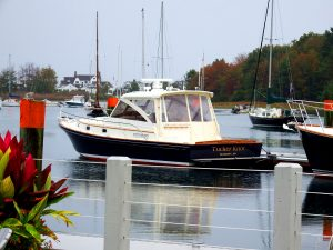 Maine Harbor Boats Are Big, Expensive And Not Just Dingies, Lobster Vessels or Cruise Ships.