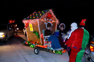 Santa Comes To Maine Small Towns.