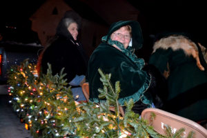 Small Maine Town Christmas Light Parades