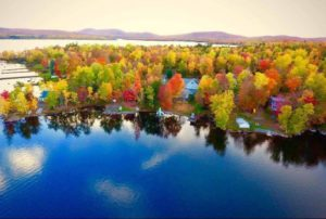 Maine Lake Photo, Low Population In Maine.