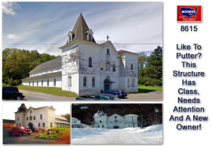 church for sale in maine