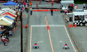 soap box derby race lane photo