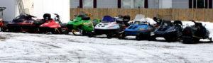 maine snow sleds