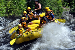 whitewater rafting in maine,